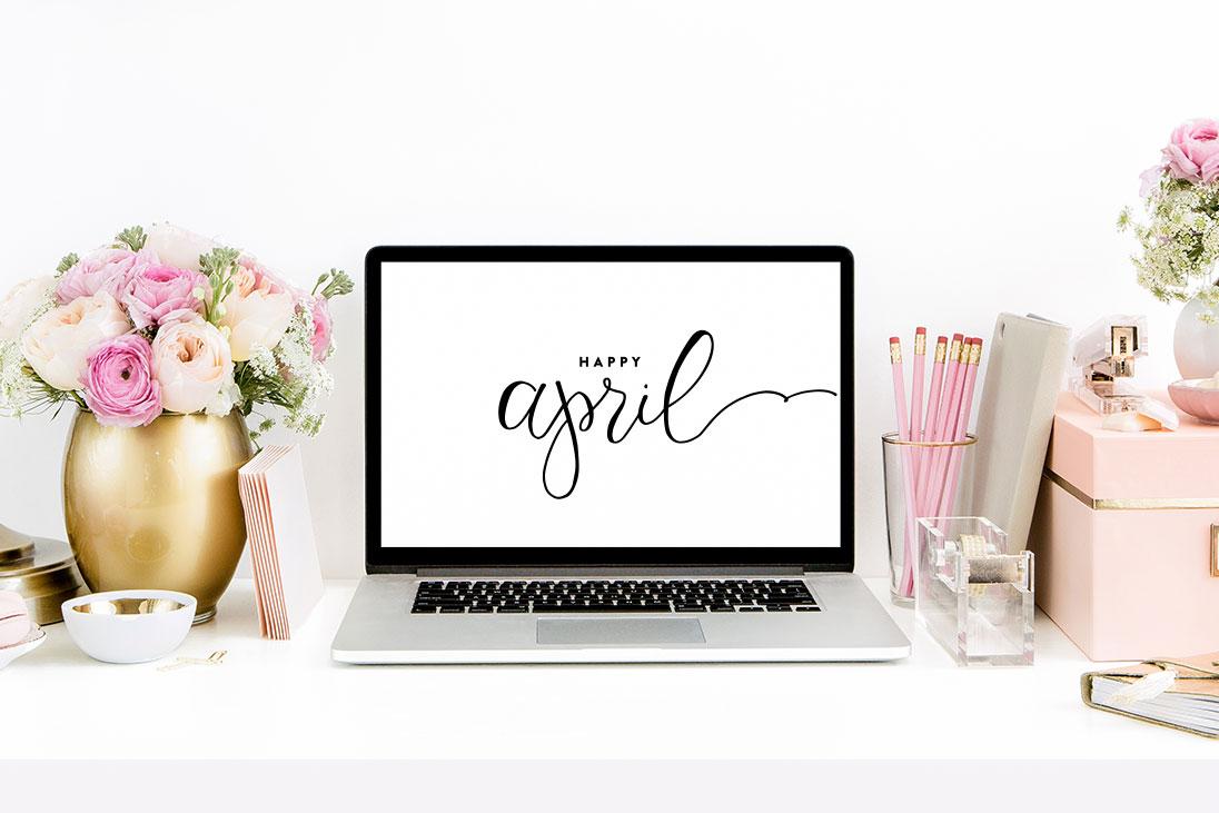 April Wallpapers Phones Desktops Ashlee Proffitt 1096x731
