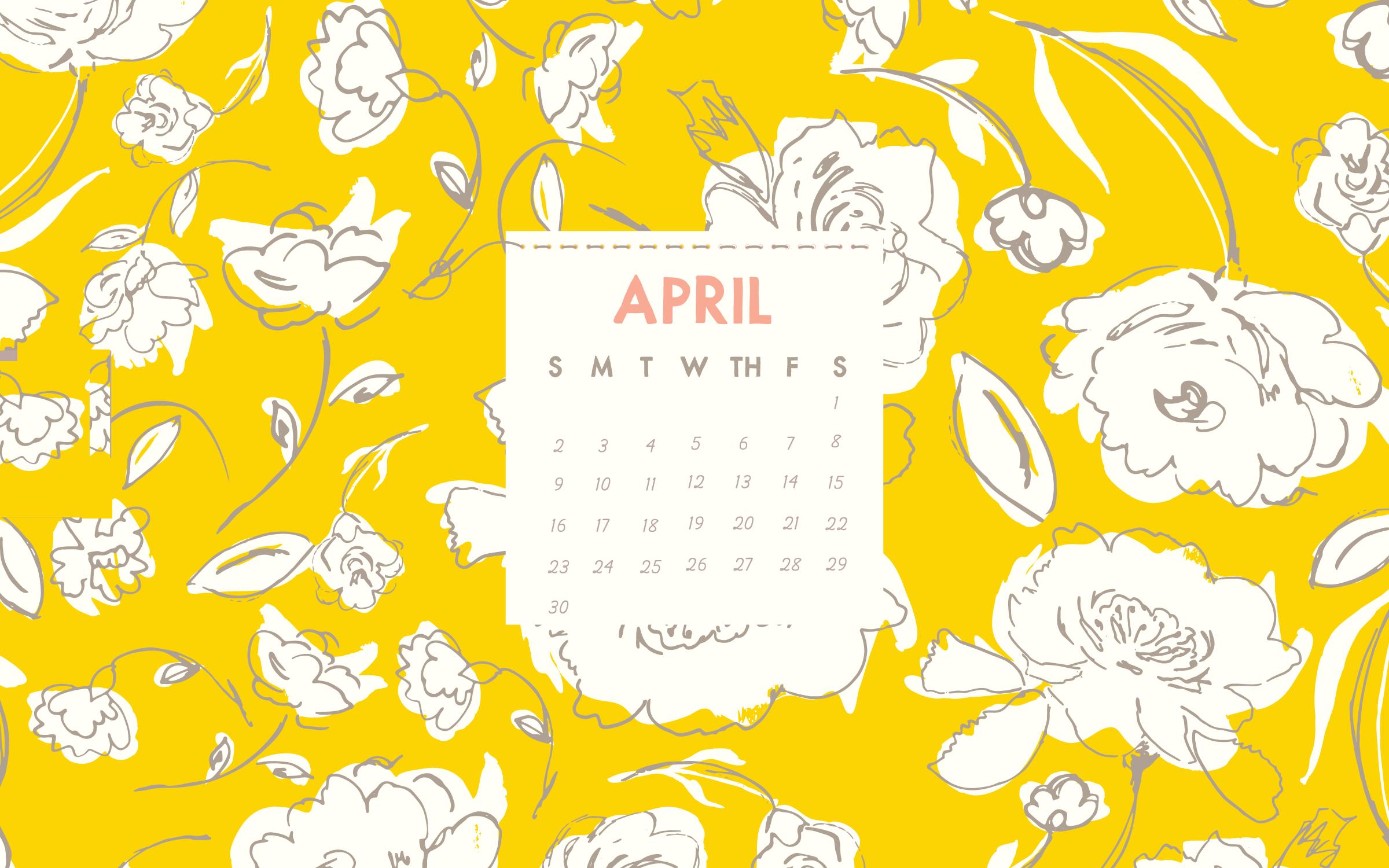 April 2018 Desktop Background Calendar Calendar 2018 Desktop 2400x1500