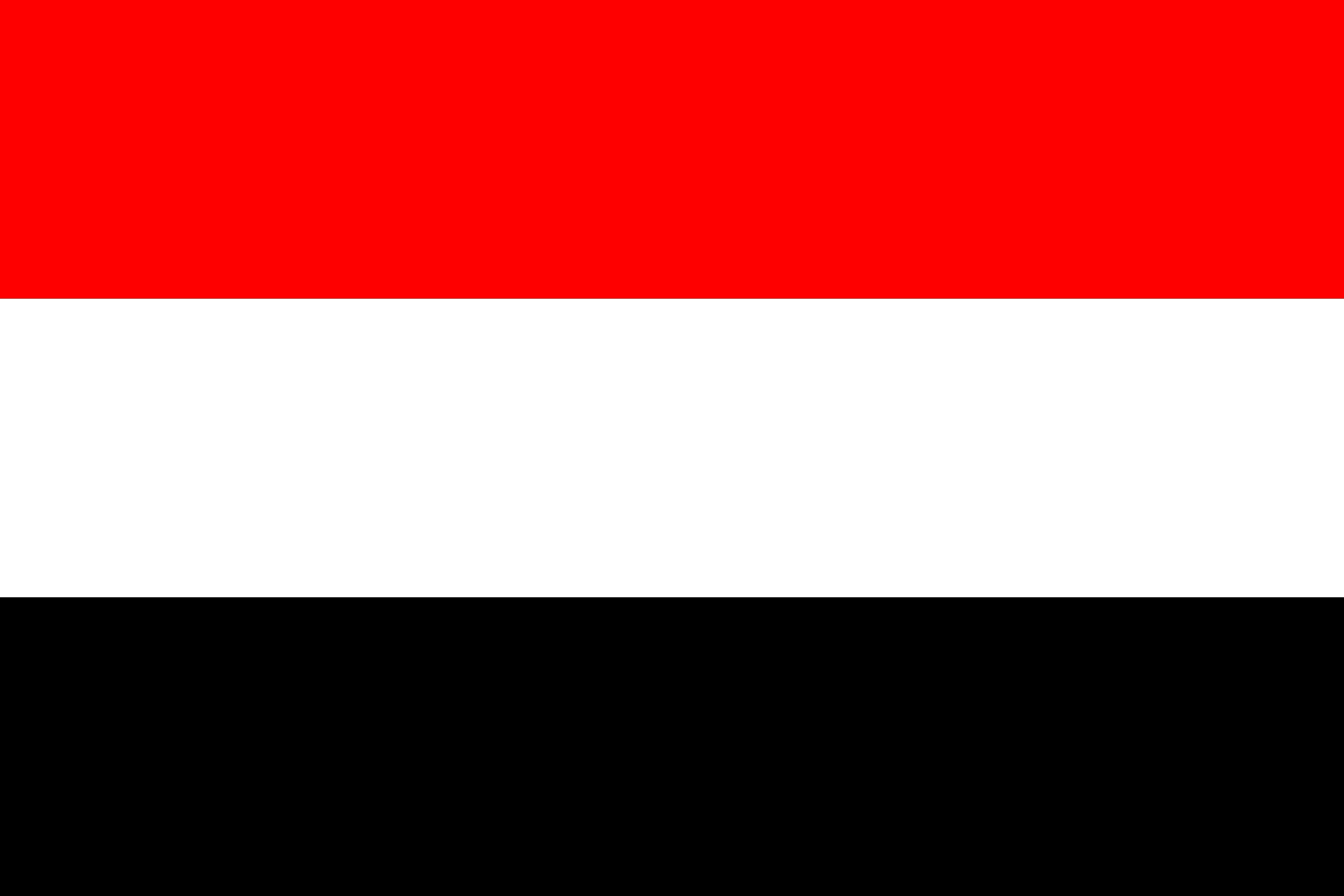 Wallpaper Yemen Flag Stripes 4497x2998