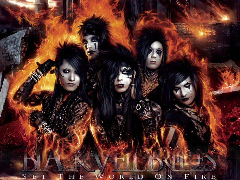 Black Veil Brides Wallpaper by MADCHILLA 800x600