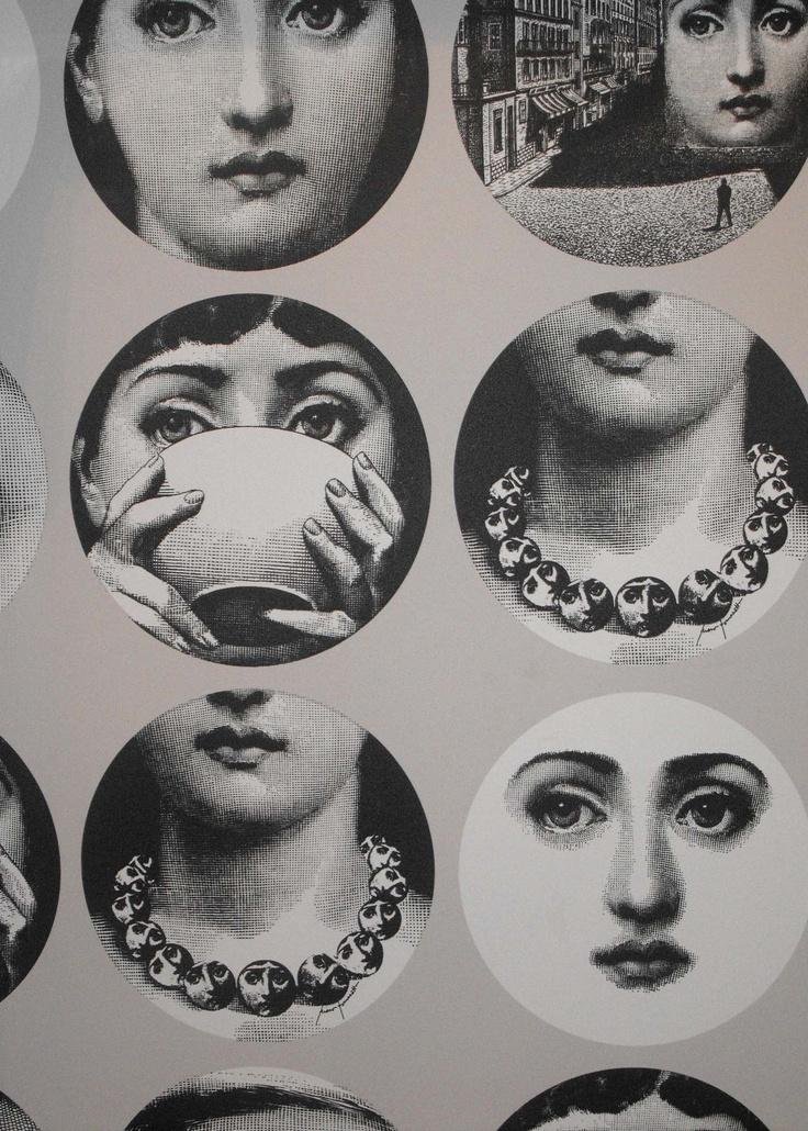 Fornasetti Wallpaper Fornasetti Pinterest 736x1030