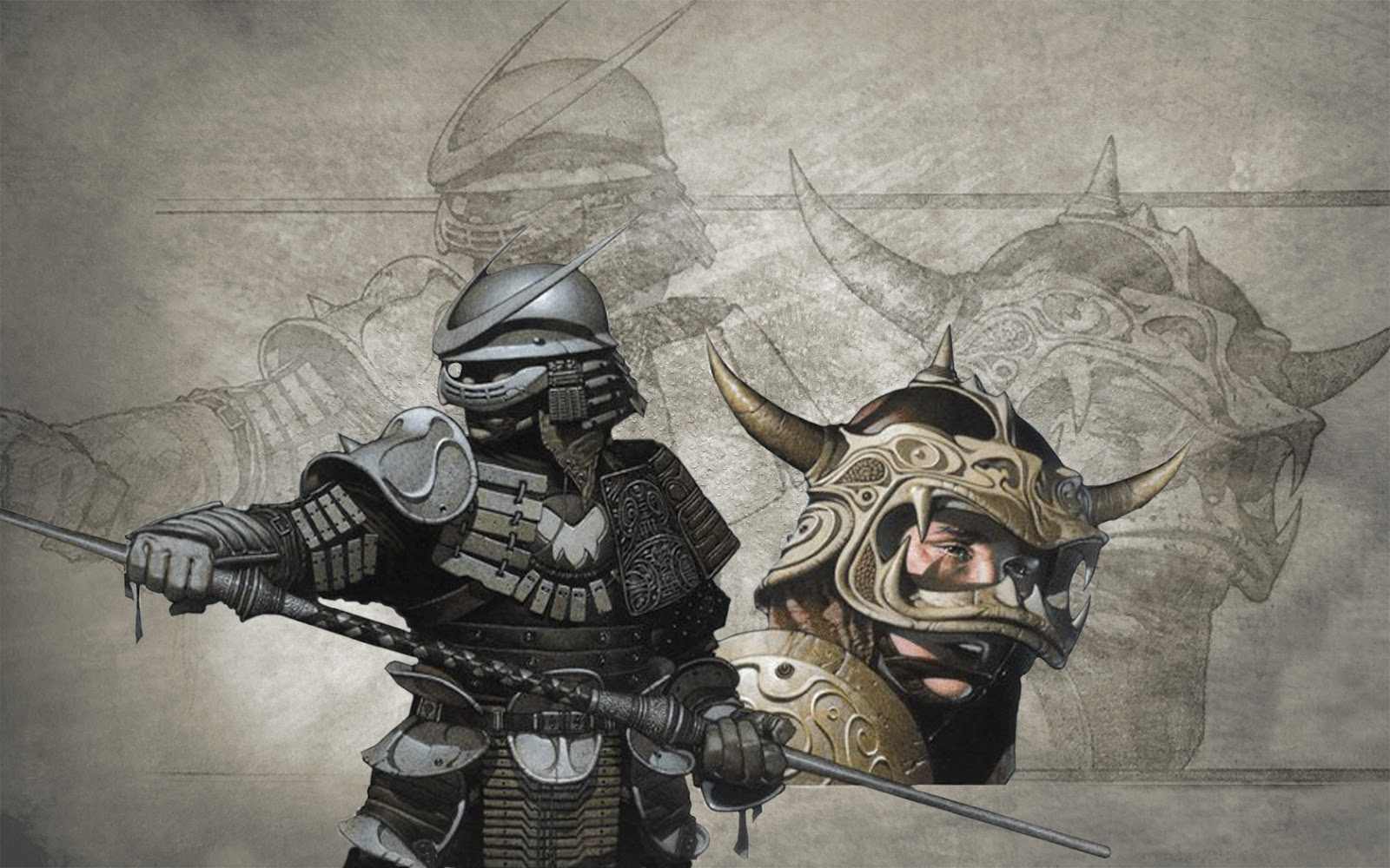 Free Download Japanese Samurai Wallpaper 1600x1000 For