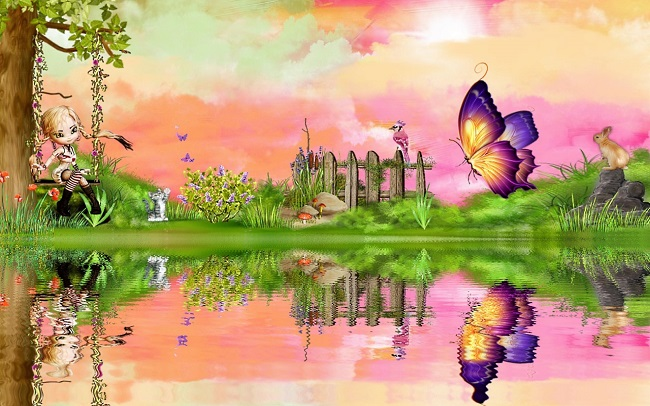 she looks very happy in summer spring seasons We hope you will share 650x406