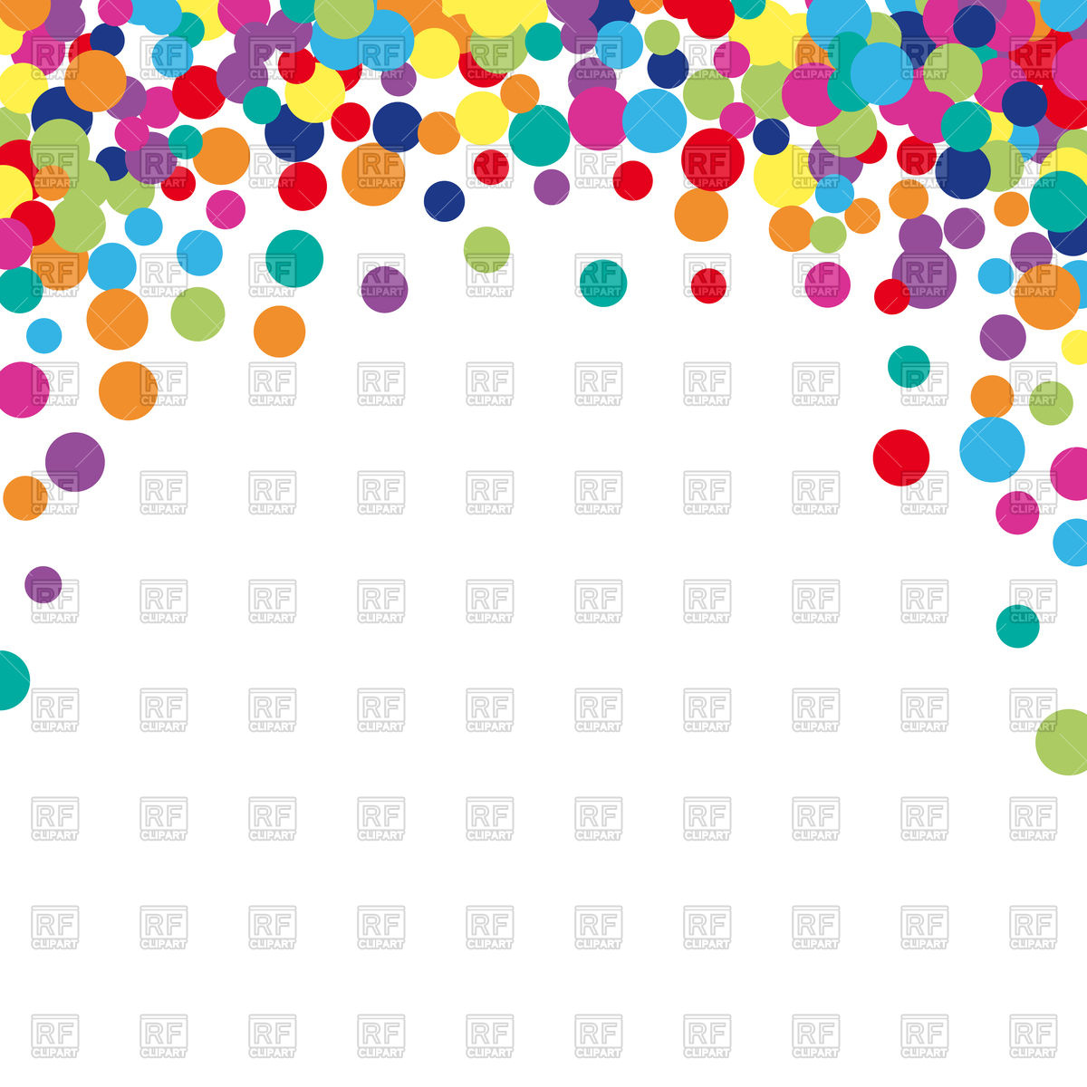 Colorful spot background Vector Image of Backgrounds Textures 1200x1200