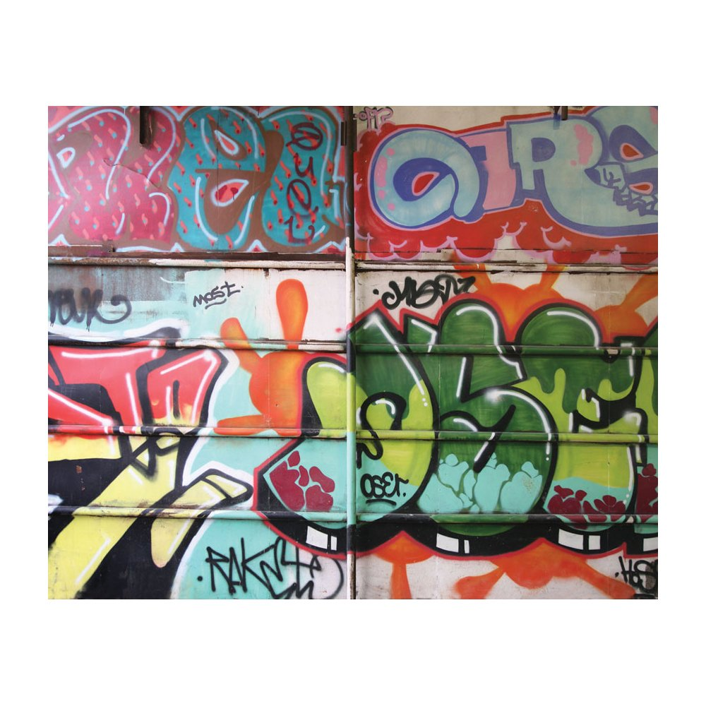 foto de Free download MD3067 Graffiti Removable Full Wall Wallpaper Mural ...
