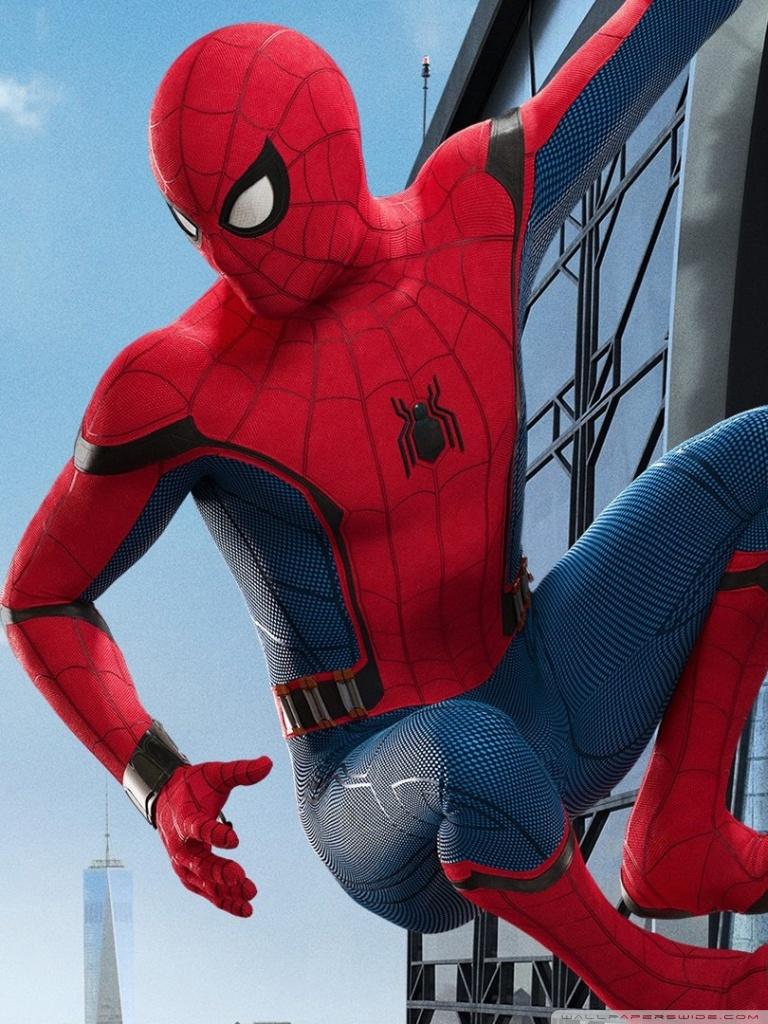 SpiderMan Homecoming 4K HD Desktop Wallpaper for 4K Ultra HD TV 768x1024