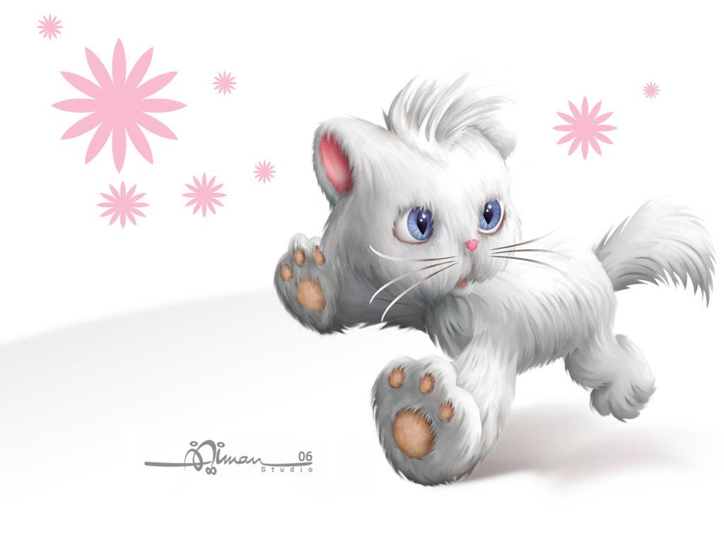 Wallpaper Lucky Cat by AimanStudio 1024x768