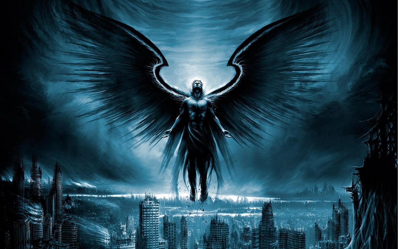 Fallen angel Desktop wallpapers 1440x900 1440x900