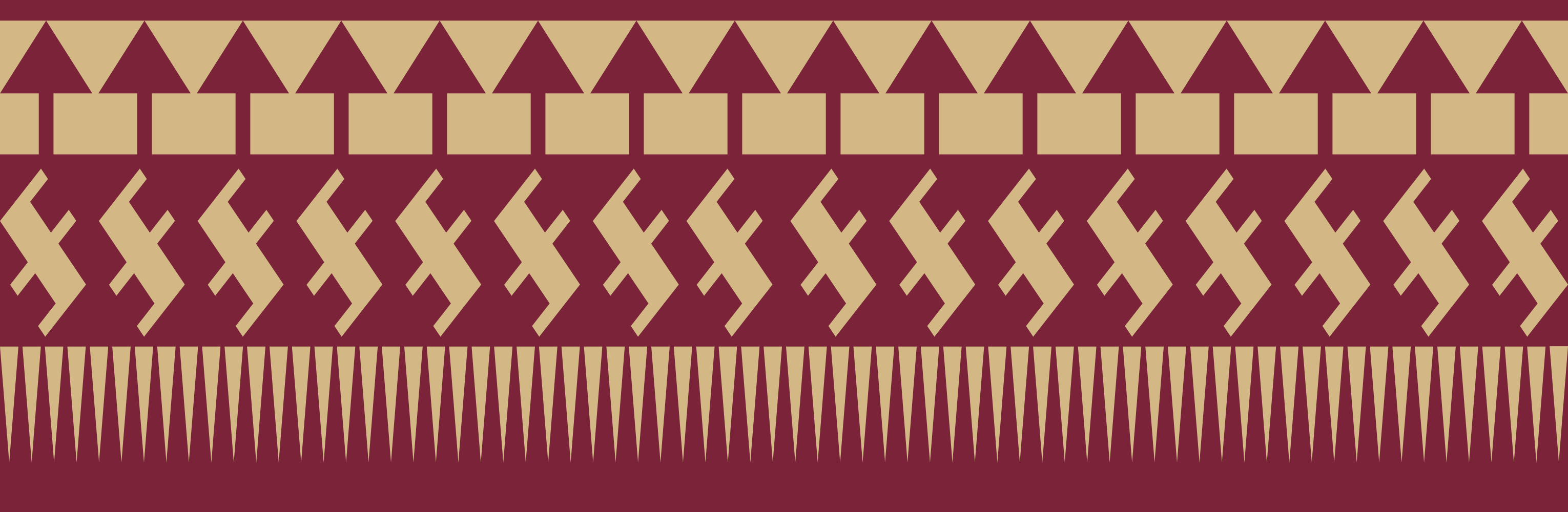 Florida State Seminoles Logo Vector I traced up the new fsu spear 3060x1000