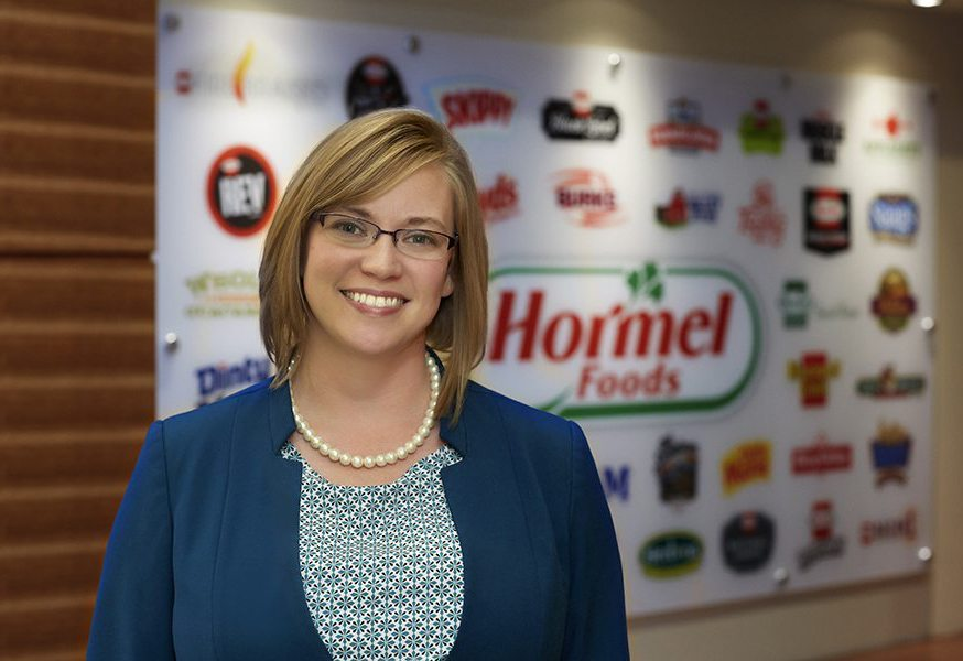 Business background aids HR supervisor at Hormel Newsroom 874x600