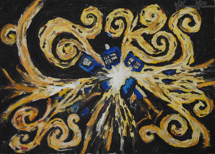 exploding tardis wallpaper wallpapersafari