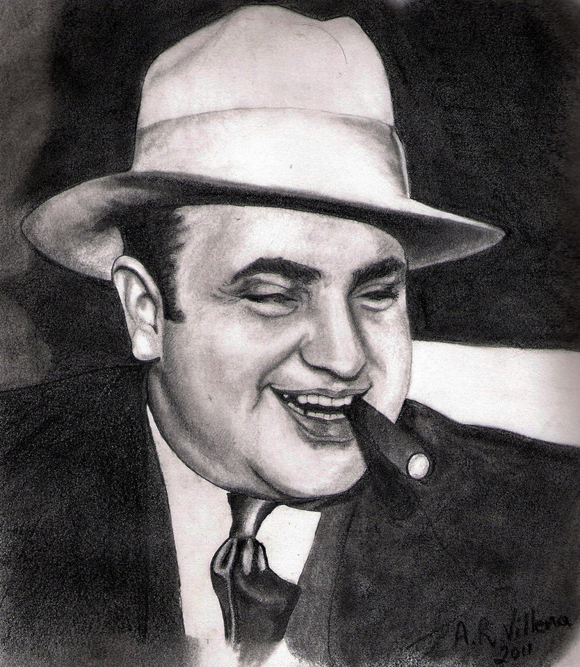 Al Capone by arvillena2 on DeviantArt