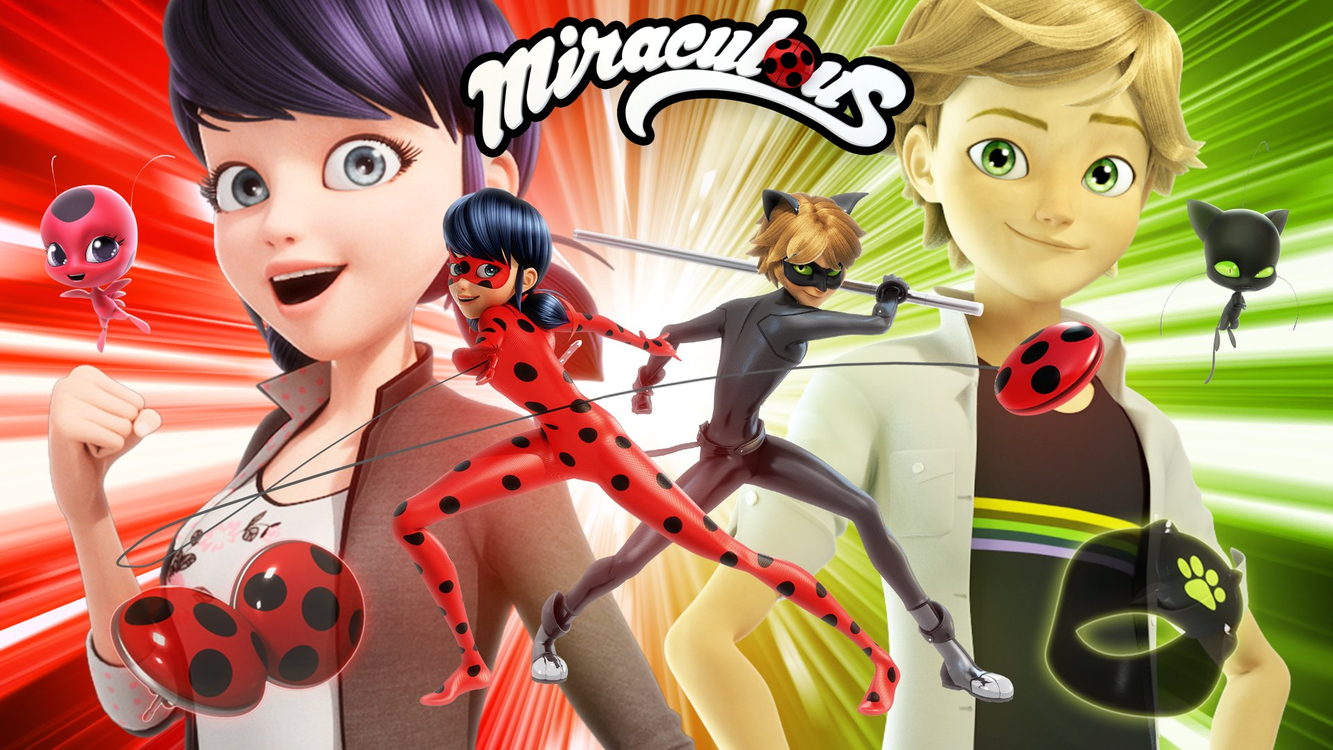 Miraculous Ladybug images Ladybug Chat Noir HD wallpaper and 1920x1080