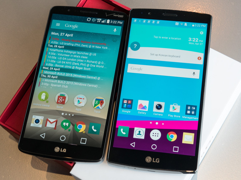 LG G4 vs LG G3 Android Central