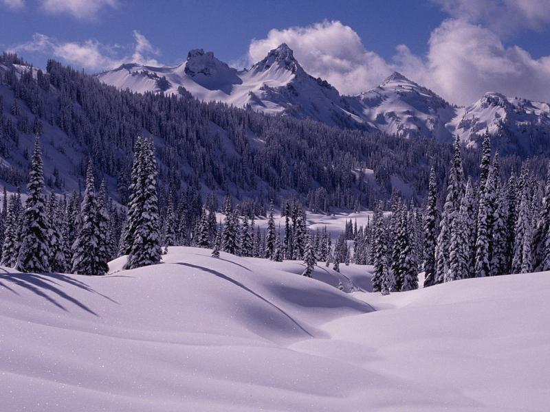 Desktop Wallpaper: Free Desktop Wallpaper Winter Scenes