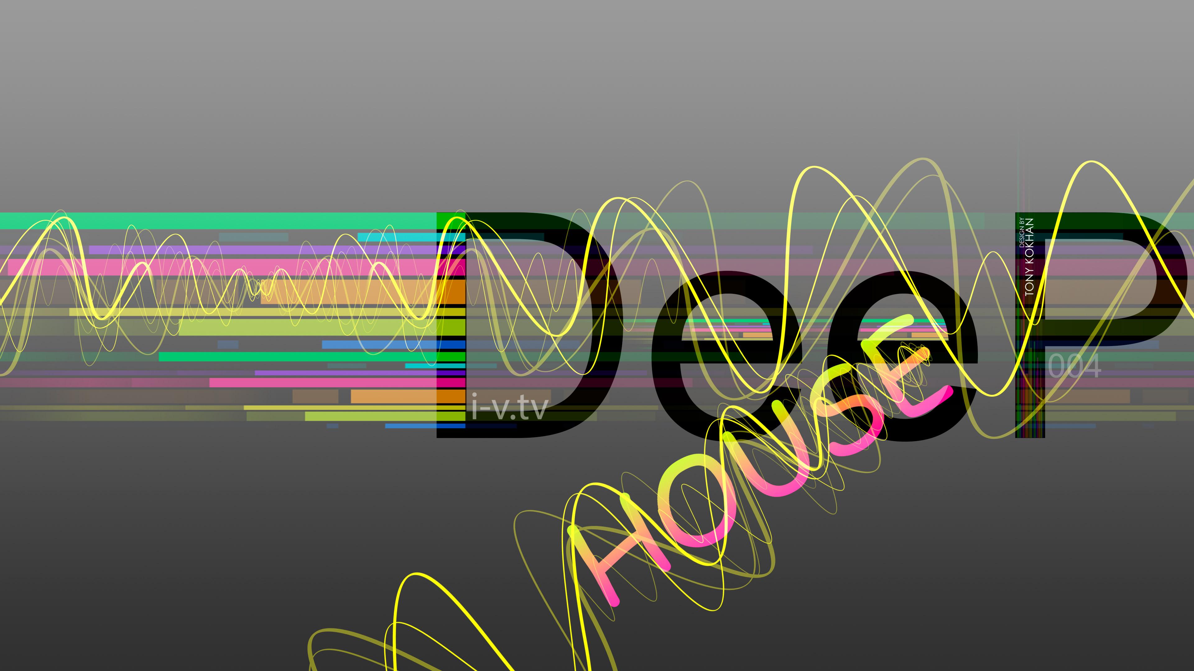 Deep House Music Abstract eQ Style 2015 Art Deep Four 3840x2160