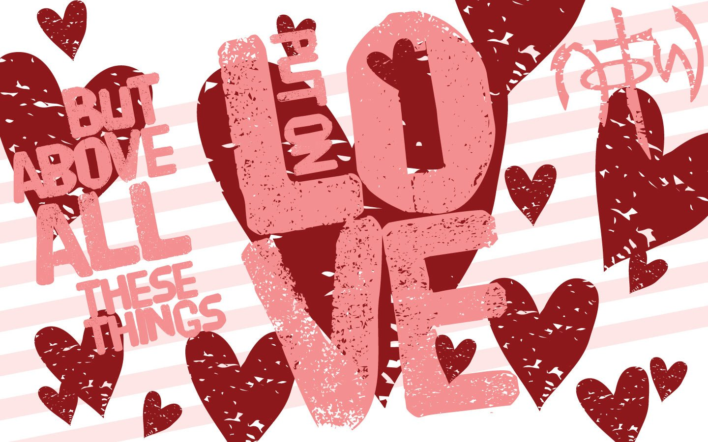 Christian Valentine's Desktop Wallpaper