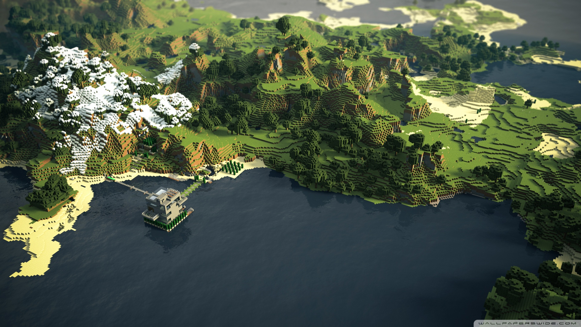 More awesome minecraft wallpapers 1 Design Utopia Trend 1920x1080