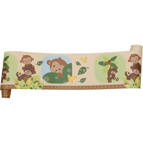 Originals by Lambs Ivy   Wallpaper Border Curly Tails   Walmartcom 500x500