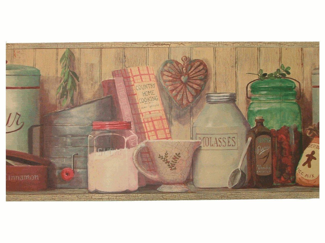 wallpapercomphotocountry kitchen wallpaper border18html 1280x960