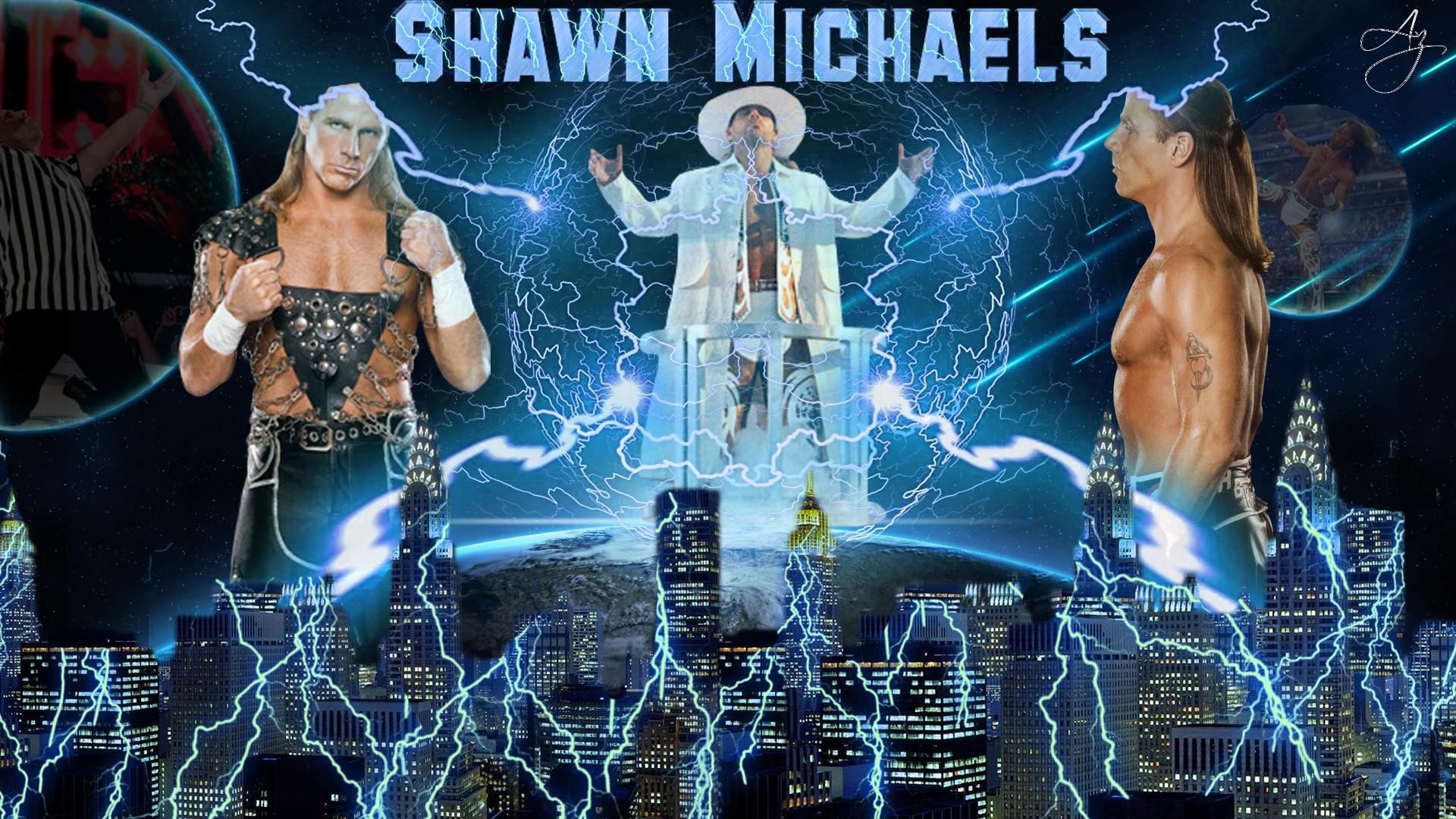 Shawn Michaels HD Wallpaper by FunkyAli on deviantART 1920x1080