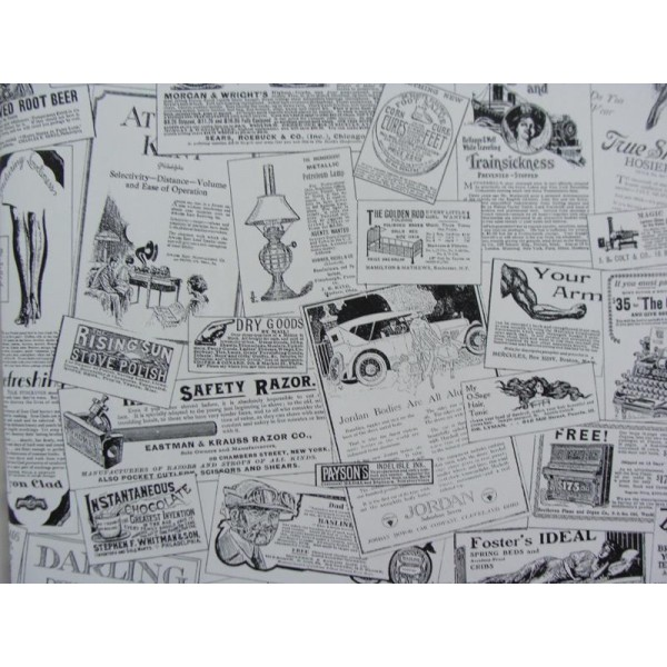 Vintage Newspaper Wallpaper   Wallpaper Brokers Melbourne Australia 600x600