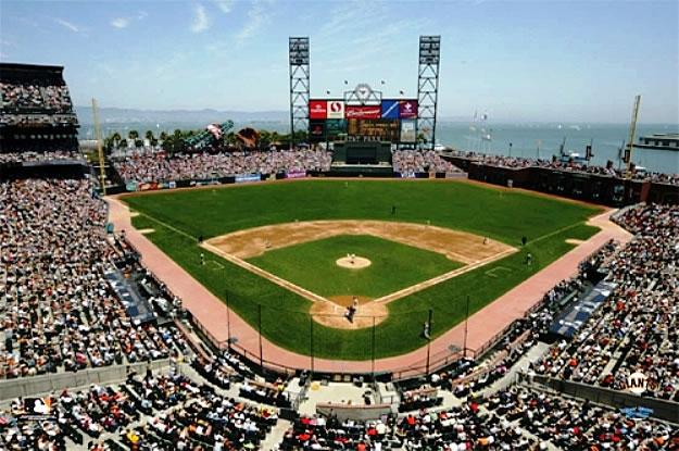 SkyBox Sports Scenes San Francisco GiantsATT Park Mural 625x415