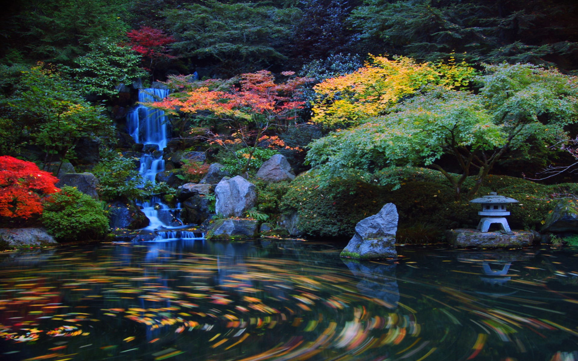 japanese garden hd wallpaper wallpapersafari