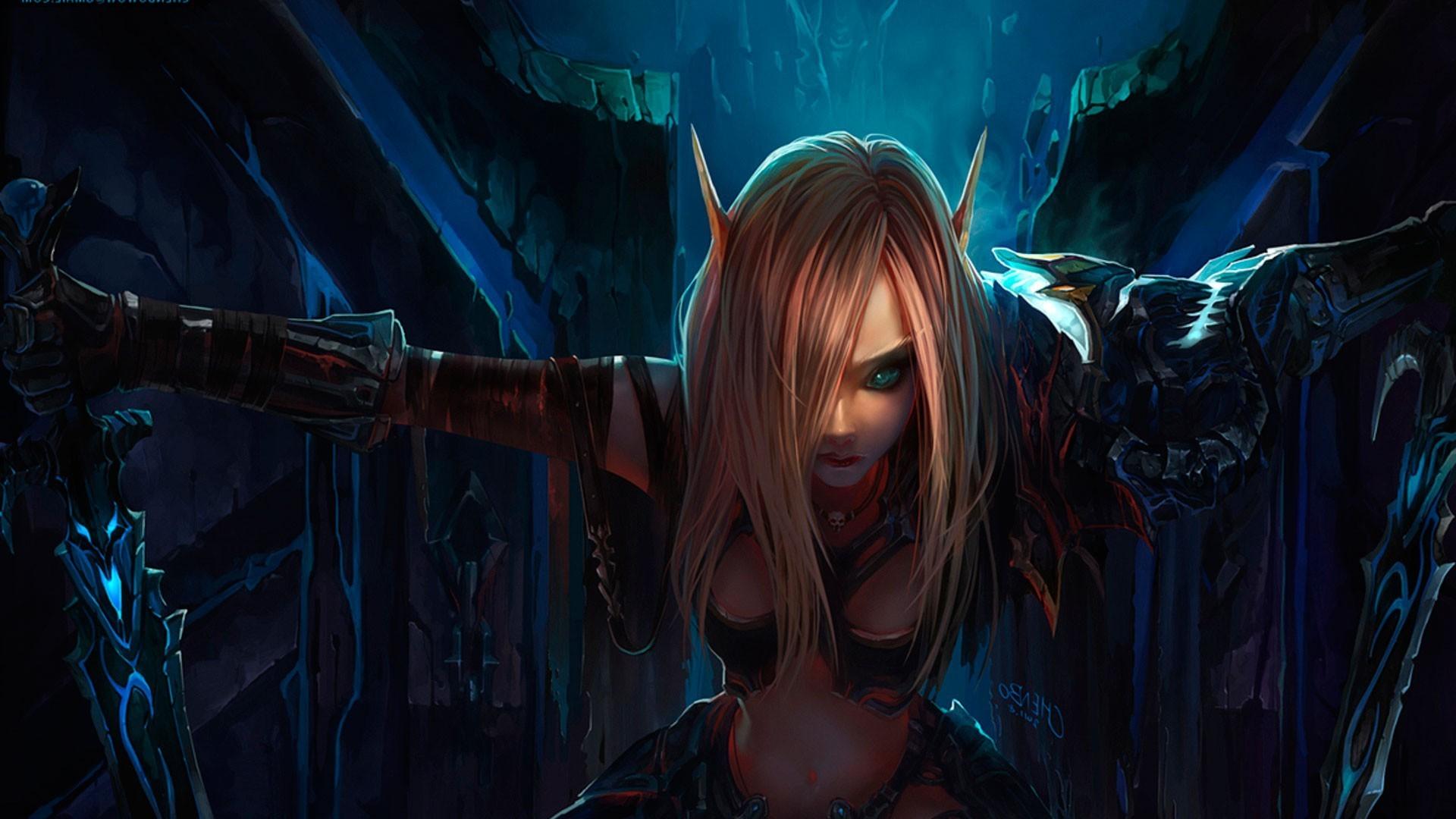 Free Download World Of Warcraft Horde Wallpaper 1920x1080 Elf