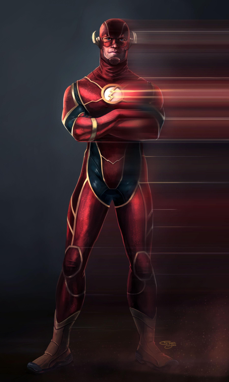 The Flash 1800x3000