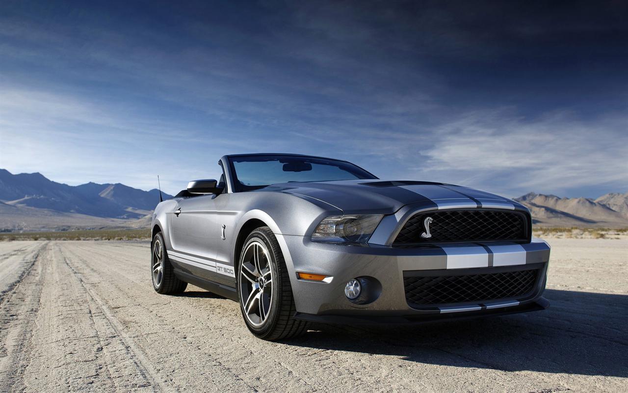 Mustang GT500 Cobra Desktop Wallpaper Background Desktop Wallpaper 1280x800