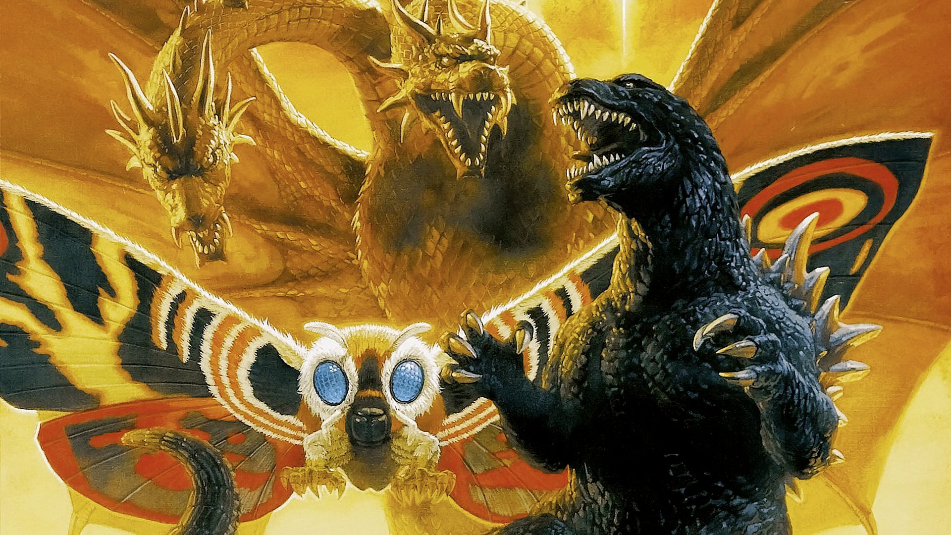 Godzilla images Godzilla Mothra and King Ghidorah Wallpaper wallpaper 1920x1080