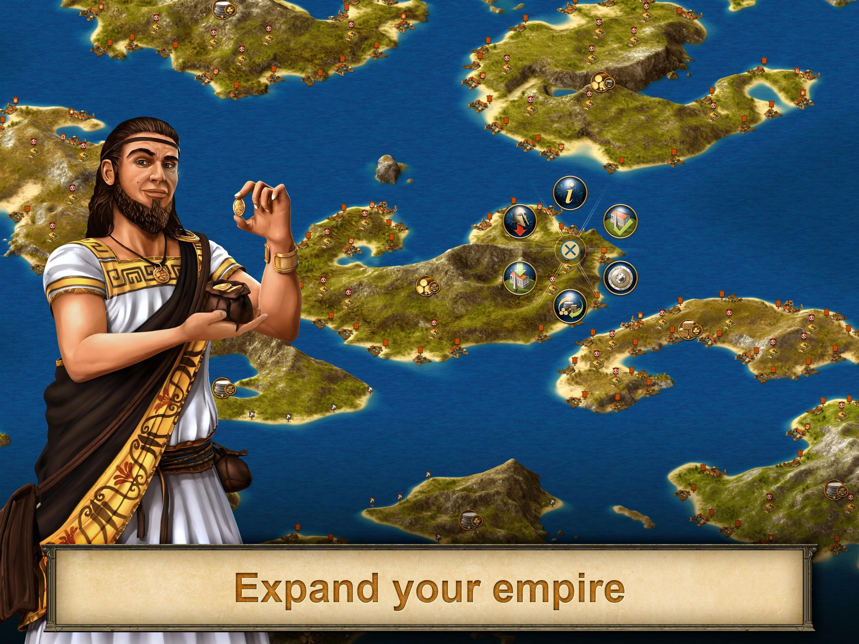 Grepolis for Android   APK Download 2732x2048