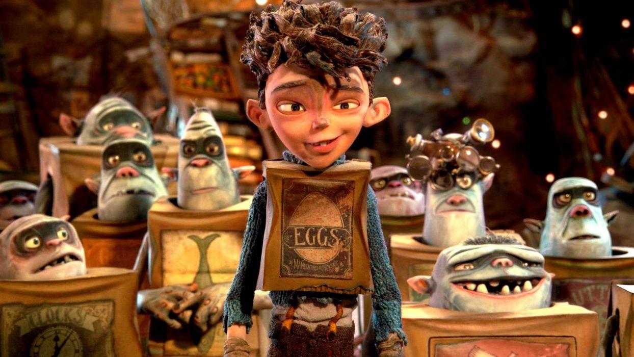 THE BOXTROLLS animation family comedy cartoon movie film adventure 1244x700