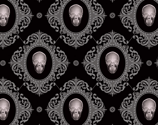 A Collection of 150 Artistic Damask Pattern Designs | Damask ... Goth  Wallpaper For Walls - Home ...