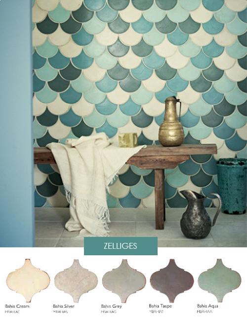 Moroccan Tile Wallpaper 500x657