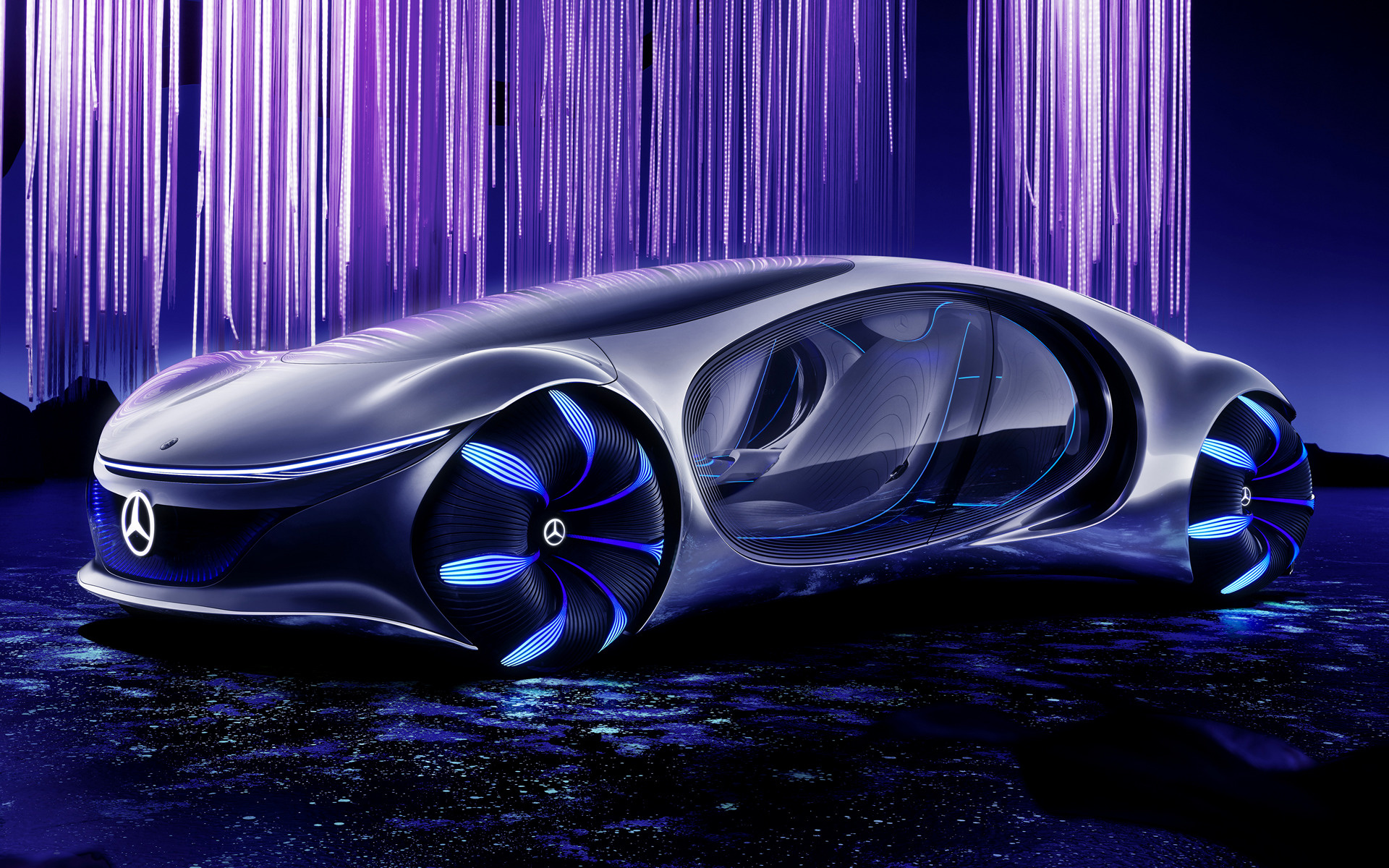 download 2020 Mercedes Benz Vision AVTR Wallpapers and HD 1920x1200