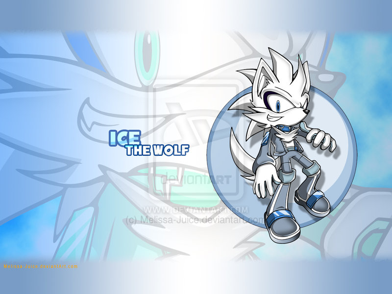 RQ  Ice The Wolf Wallpaper by Karckade 800x600