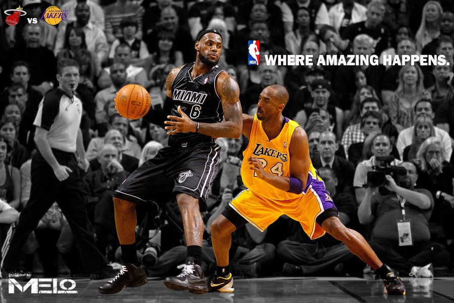 Back Gallery For Lebron James And Kobe Bryant Wallpaper 900x600