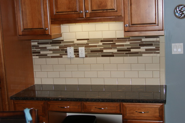 Faux kitchen backsplash tiles