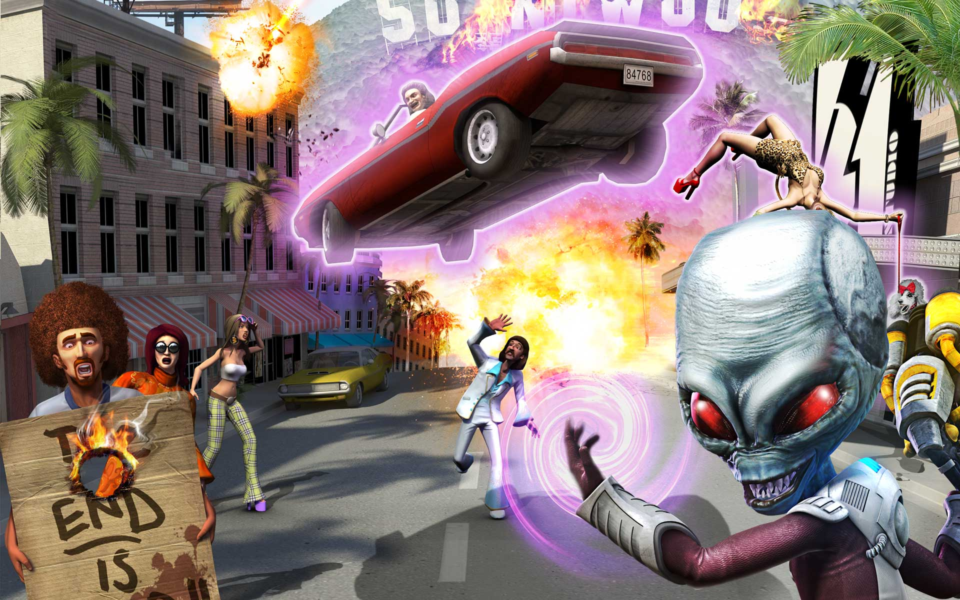 Index d   Destroy All Humans Path of the Furon Wallpaper Gallery 1920x1200