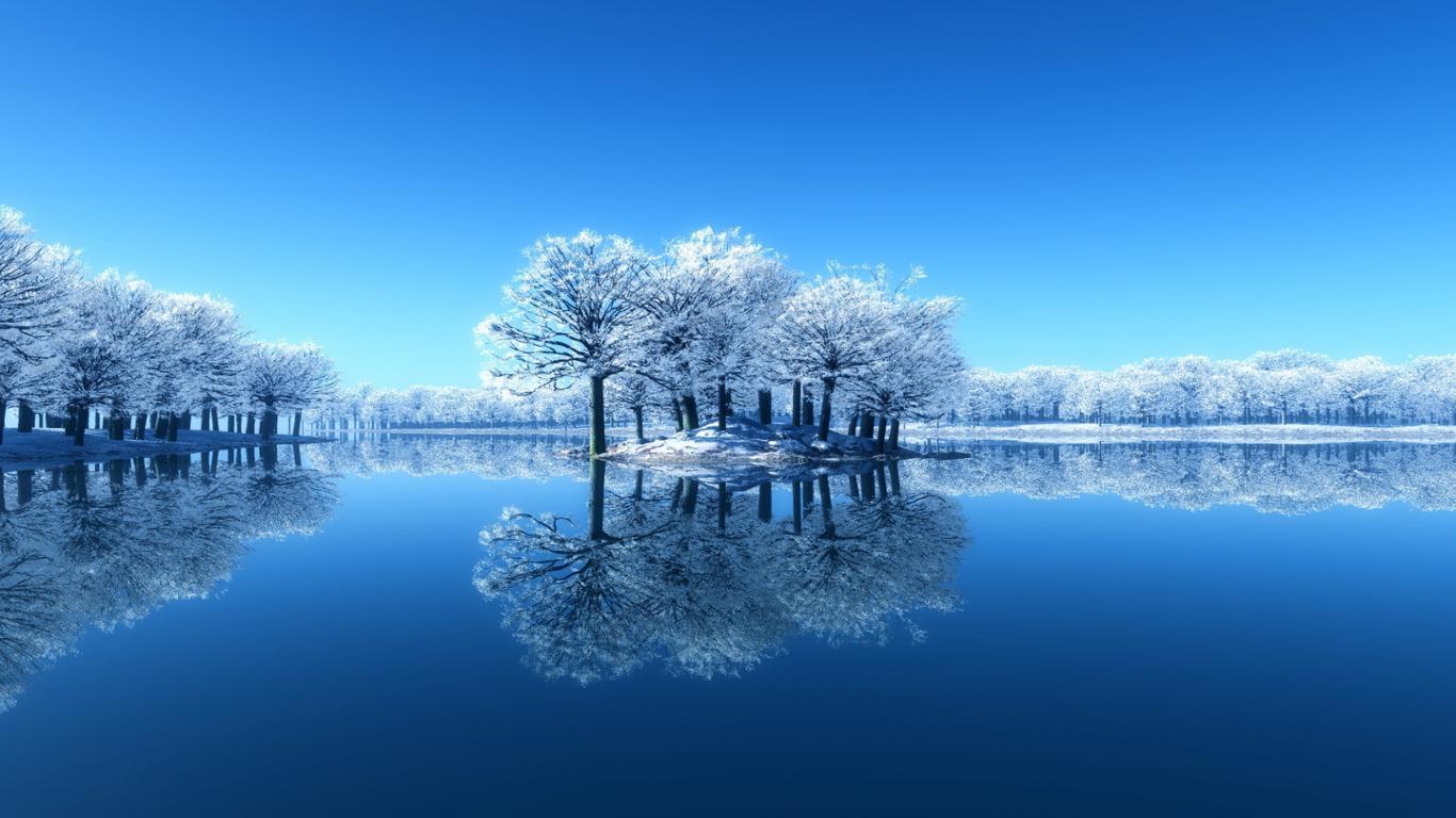 Beautiful Nature Winter Wallpaper 8980 Hd Wallpapers in Nature 1366x768
