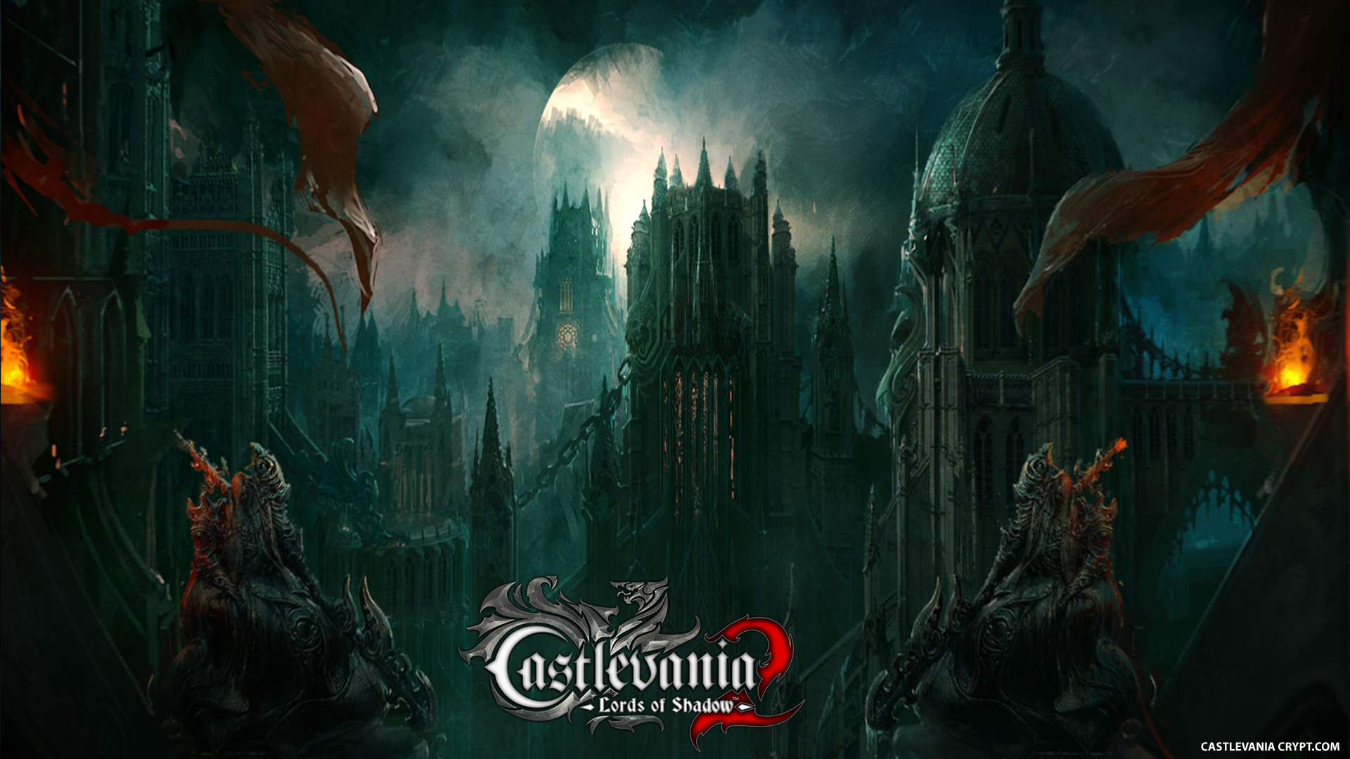 Free Download Wallpaper Abyss Video Game Castlevania Lords Of