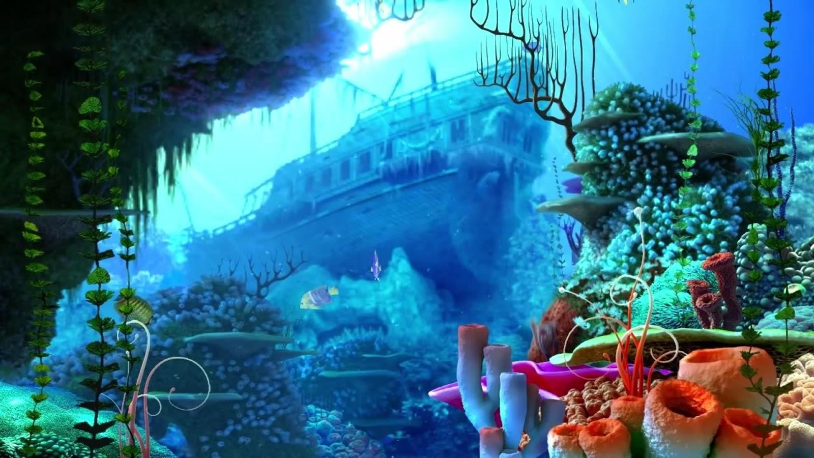 3d Live Fish Wallpaper Live Wallpaper Fish Tank 1600x900