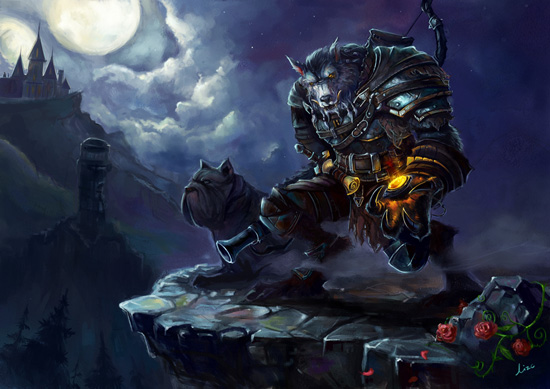 WoW Art Gallery Cool Fan Art Updates   World of Warcraft   MMOsite 550x389