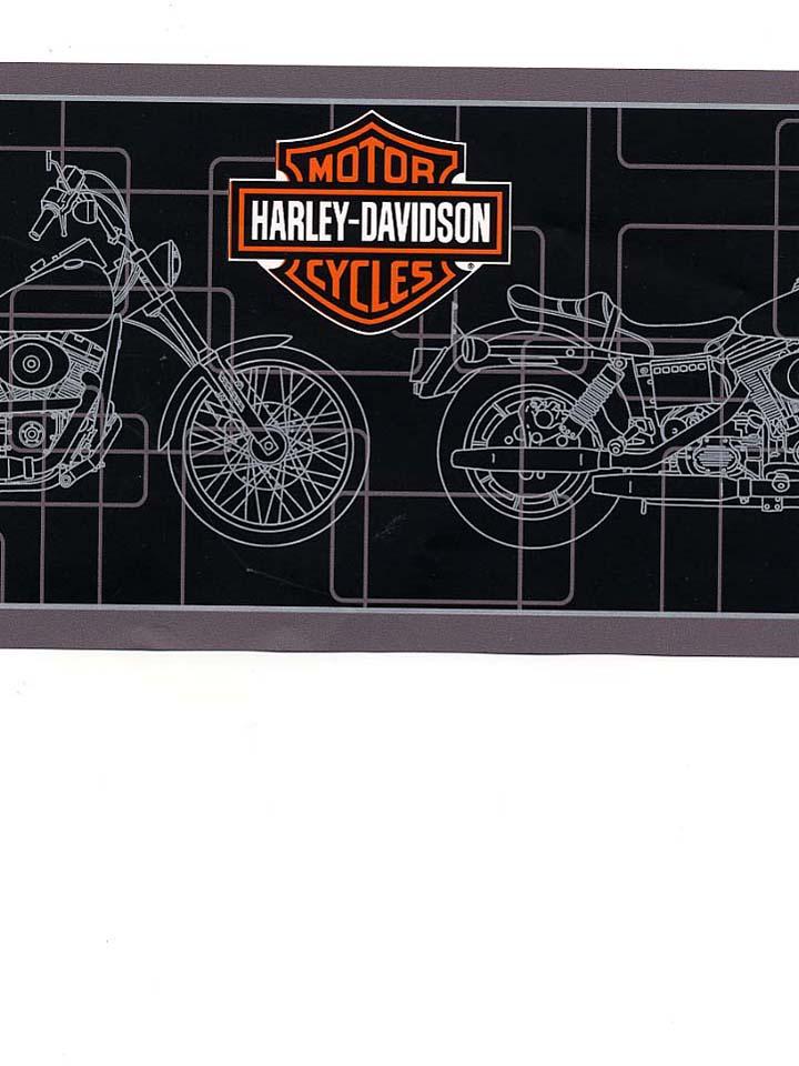 HARLEY DAVIDSON WALLPAPER BORDER   21B8   134B39963 720x960