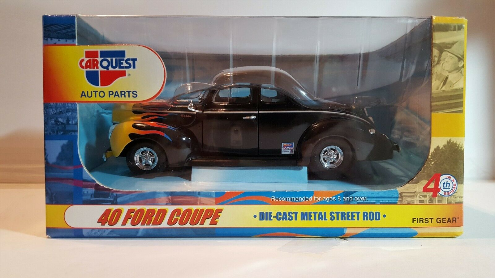 CARQUEST 40 Ford Coupe Die Cast Toy Car 2003 Gear Street Rod 140 1600x900