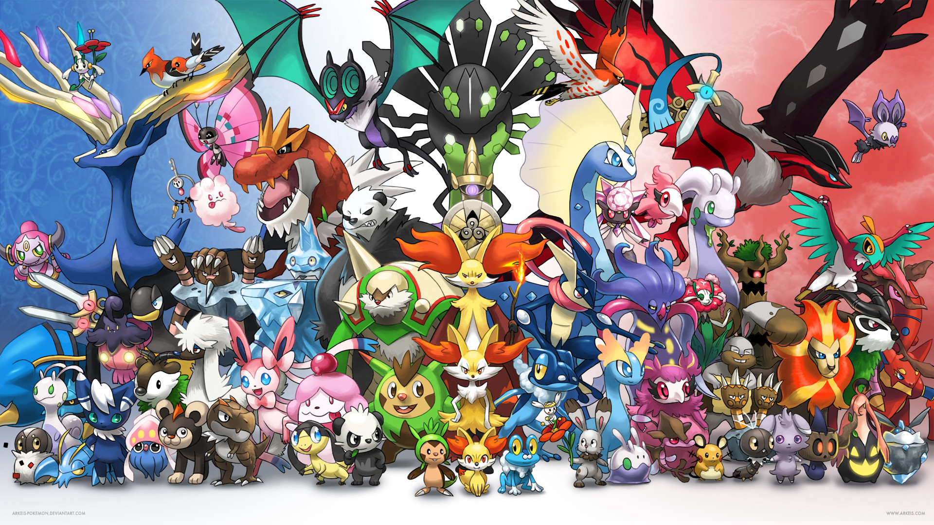 All Legendary Pokemon Wallpaper 79 images 1920x1080