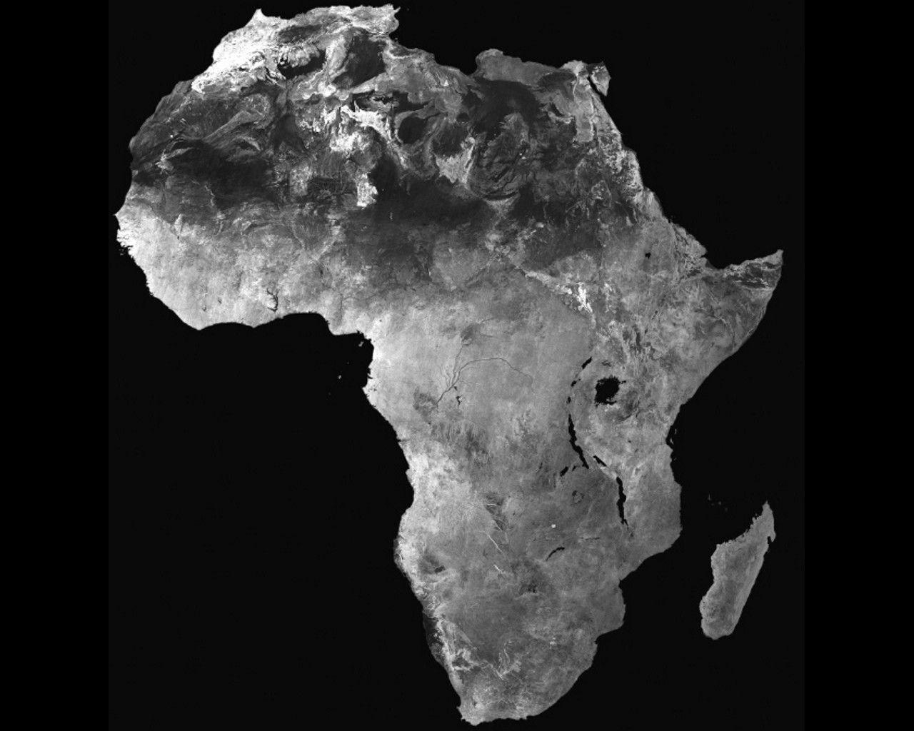 Africa Map Wallpapers 1280x1024