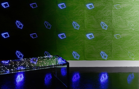 Led Wallpaper Gets Green Light 550x353